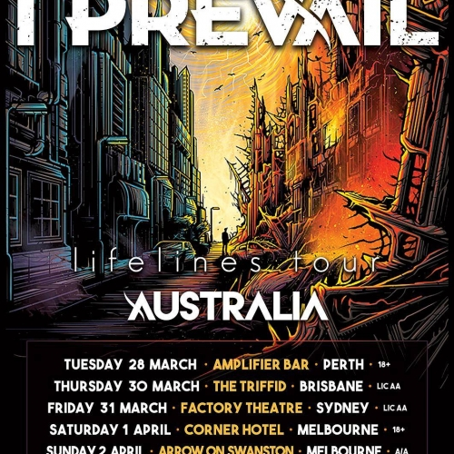 Post-hardcore fans rejoice! American outfit I Prevail will be hitting Aussie shores for the first time in 2017 and storming into the Corner Hotel on Saturday April 1st.  Tickets on sale Thursday 8th December via cornerhotel.com  #livemusic #cornerhotel