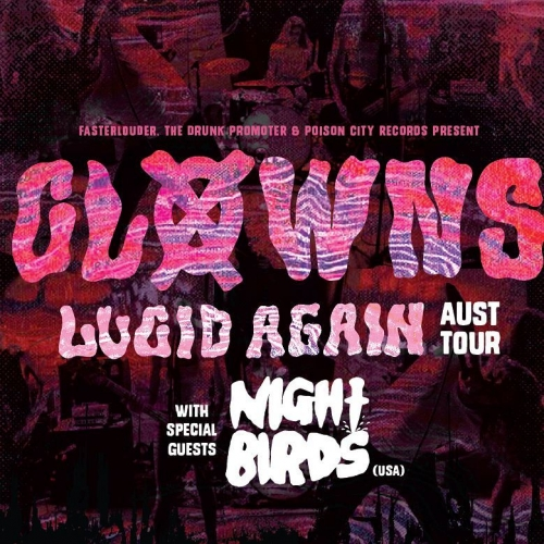 JUST ANNOUNCED: Local punk legends Clowns will be celebrating the release of a brand spankin' new album with us on Sat 17 June. Tix on sale now via http://ow.ly/8gC1309LnAp  #livemusic #melbournemusic #cornerhotel