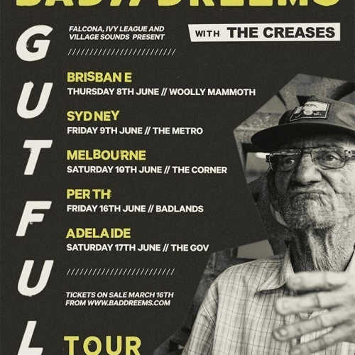 JUST ANNOUNCED: Bad//Dreems are getting ready to release their highly anticipated second album 'Gutful' and will be celebrating with a massive show here this June! Tickets on sale this Thursday via cornerhotel.com.  #livemusic #baddreems #gutful #melbournemusic #melbournebars
