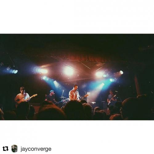 US alt-rockers @balanceandcomposure delivering the goods mid set last night 🎸  Regram 📷: @jayconverge 🎇 #cornerhotel #balanceandcomposure #melbournemusic #livemusic