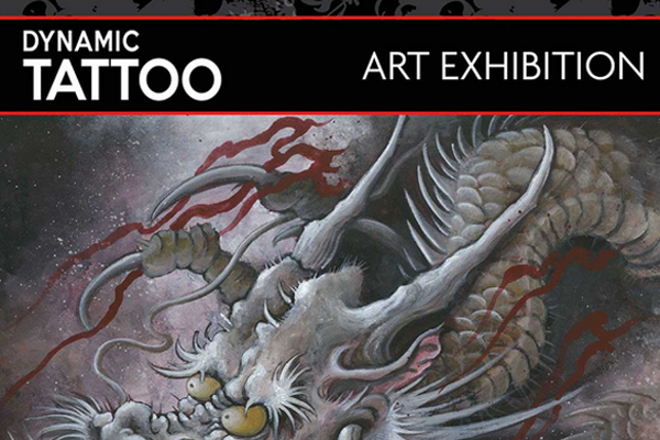 DYNAMIC TATTOO ART EXHIBITION @ THE CORNER HOTEL