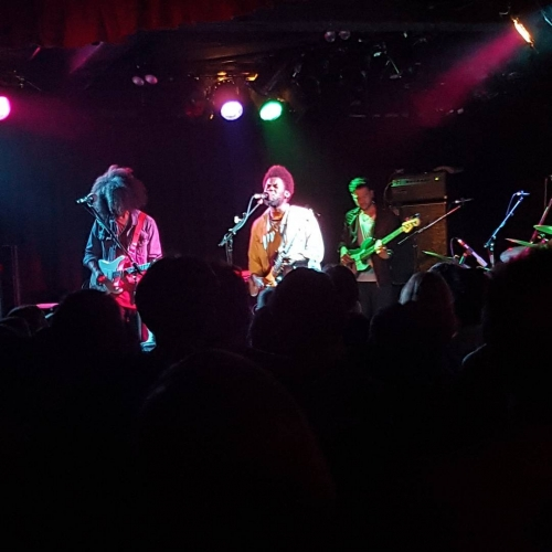 Amazing show last night! Felt the funk and soul with Michael Kiwanuka following an amazing opening set by Ainslie 'Angel' Wills. #livemusic #cornerhotel #melbourne #melbournemusic