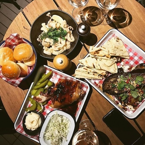 Just got in to work but already dreaming about your next Friday night feast? Drool over this 😉 📷: @projectofec #melbournebars #melbournefood #cornerhotel #richmond