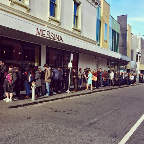 For those who can't be assed waiting in the massive line for the Messina/Twin Peaks pop-up in Richmond we ain't got cherry pie but we've got a helluva lot of beer and just quietly, we know what we'd prefer.