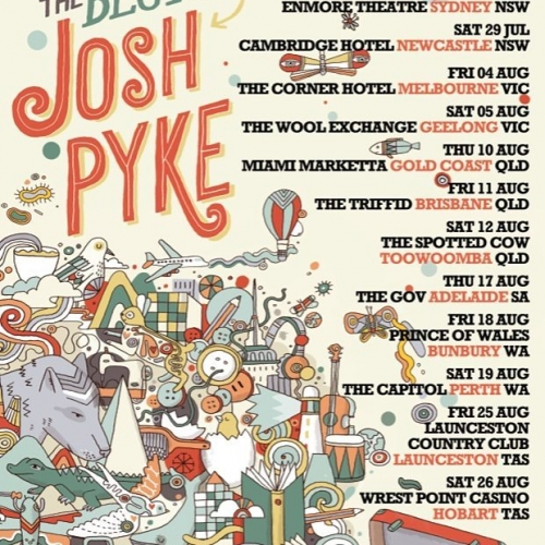 Josh Pyke is celebrating the 10 year anniversary of his first solo album, Memories & Dust with a massive two set show here on Fri 4 August! Tix on sale this Monday via cornerhotel.com. . . . . . #cornerhotel #melbourne #livemusic #music