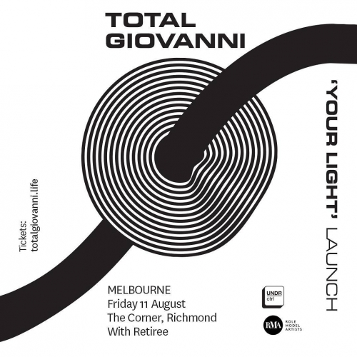 JUST ANNOUNCED: Disco 'til you die with Melbourne five-piece party people Total Giovanni this August! Get down to get down, tickets on sale now via http://ow.ly/F8yI30czw0w . . . . . #cornerhotel #melbourne #livemusic #music