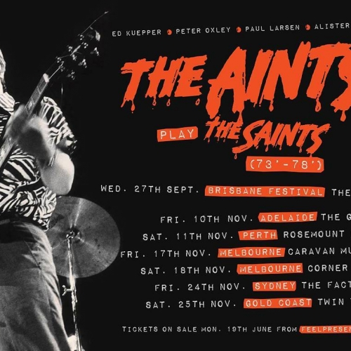JUST ANNOUNCED: The Ain'ts will be celebrating the 40th anniversary of '(I'm) Stranded,' the amazing album from seminal Aussie punk band The Saints here this November! Ft. founding member and guitarist Ed Kuepper. Tickets on sale Monday via cornerhotel.com. . . . . . #cornerhotel #melbourne #livemusic #music #rocknroll #punk