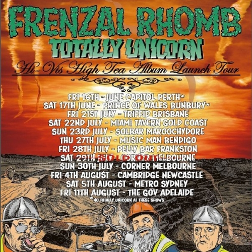 Aussie punk legends Frenzal Rhomb will be hitting the stage for two nights next week in support of their new album. With one show already sold out, don't miss out and grab your tickets to the show on Sun 30 July now! http://ow.ly/5CYj30dI2Zr . . . . . #cornerhotel #melbourne #livemusic #music