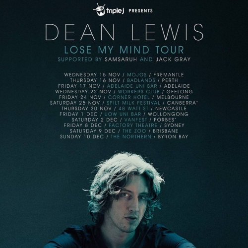JUST ANNOUNCED: Acclaimed Aussie singer-songwriter Dean Lewis will be embraking on a national tour in support of his latest single 'Lose My Mind' this November! Be sure to sign up to our newsletter at cornerhotel.com if you want in on some early access presale action for his show here on the 24th!