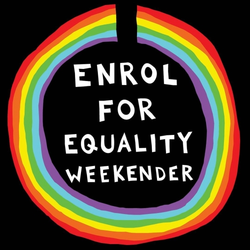 🌈 We can't wait for the day when everyone is treated equally and no one is made to feel inadequate for being who they inherently are. 🌈 Enrol or update your details before August 24th so we can all take a step towards a brighter looking future! http://www.aec.gov.au/enrol/