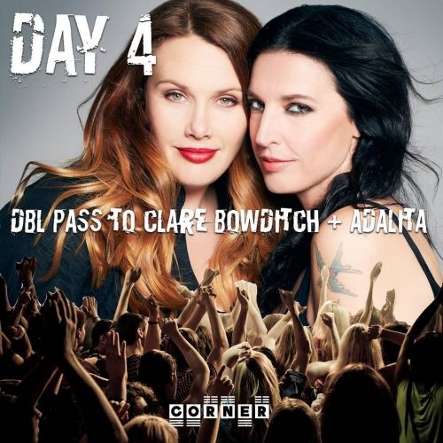 On the fourth day of Gigsmas we're giving away a double pass to see Aussie alt singer-songwriter icons Clare Bowditch and Adalita!  The two muso mates will be joining forces and playing a Sunday arvo show here on Sun 19 Nov.  For your chance to win simply tag a friend that YOU'D share the stage with below! Tix to all of our 21st birthday shows are on sale now via the website - link in bio.