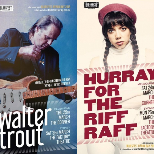 The Bluesfest sideshow party has gotten bigger with shows ft Walter Trout and Hurray For The Riff Raff just announced!  Tix to both on sale Fri 17th Nov but sign up to our newsletter now for exclusive presale access. Link in bio.