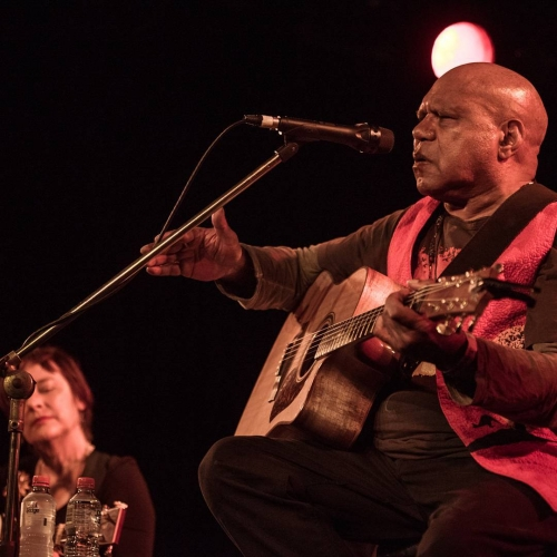 That's a wrap! Our 21st birthday shows concluded with Archie Roach earlier this week and boy, did we have a ball.  Head to our Facebook page for the full gallery of pics from shows ft. The Vasco Era, Cosmic Psychos, Kylie Auldist, Clare Bowditch + Adalita, Horrorshow and Archie Roach. Big thanks to all involved! 📸 Michelle Grace Hunder