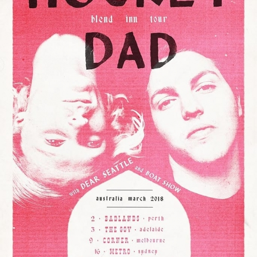 JUST ANNOUNCED: Hockey Dad are taking their show on the road this March to launch their latest album and hitting our stage with fellow legends Dear Seattle and Boat show on the 9th!  Tix for these will be 🔥, on sale via the website Thurs at 9am.