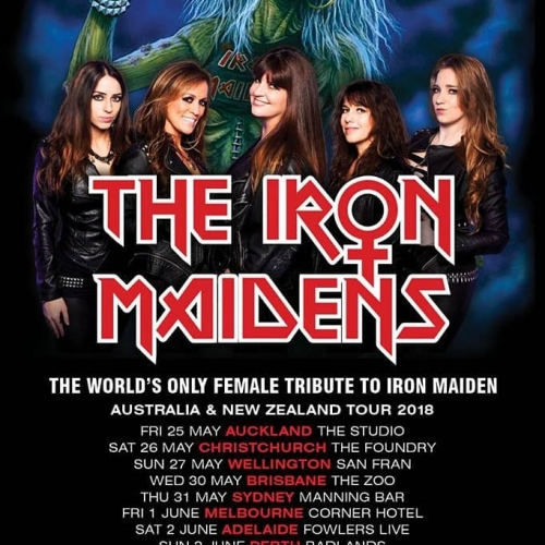 JUST ANNOUNCED: The world's best (and only all-female) Iron Maiden tribute band, The Iron Maidens are coming to the Corner!  Tix on sale THIS Friday but sign up to our mailing list for exclusive presale access now → cornerhotel.com.
