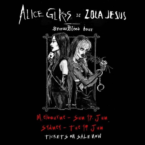 JUST ANNOUNCED: Crystal Castles' Alice Glass + Zola Jesus are bringing a bit of Dark Mofo to our stage for their festy sideshow here this June! Tix on sale now. ✨