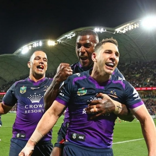 Fancy four tix to the Storm V Sea Eagles NRL match tomorrow? PLUS a jug beforehand? If you can tell us the name of the last two skippers they could be yours.