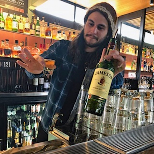 We're getting the feeling that Morris might be excited about our Jameson tasting and cocktail happy hour tomorrow evening.. just maybe.  Kick off from 5pm upstairs featuring free talks with Jamo reps and whiskey spiked food specials!