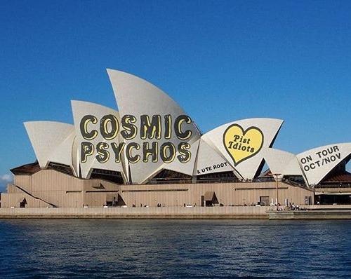 Trust the @cosmicpsychos! 😂 Catch 'em here Nov 6, tickets via cornerhotel.com.