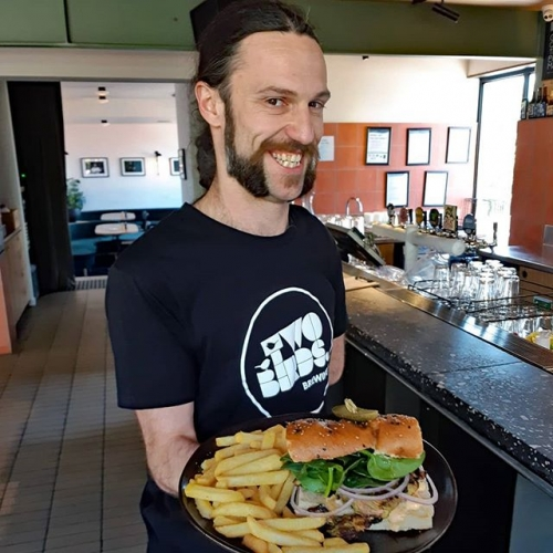 Steve, Steve, he's our man! If he can't serve you lunch with a helluva big smile on his face.. something must be really wrong because he's quite possibly the happiest bloke in the world.