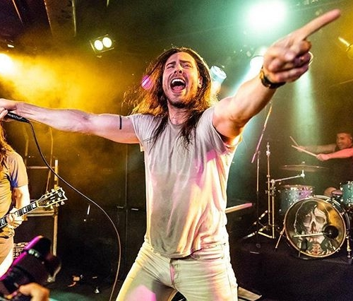 Andrew W.K is literally us when we remember it's FRIDAY👏NIGHT👏 📷 @louiemosscropphotography