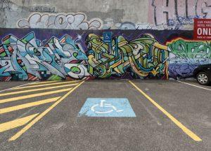 Accessible carpark