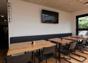 City bar low tables