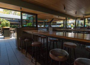 Main bar & courtyard