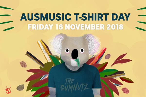 Ausmusic T-Shirt Day at the Corner!
