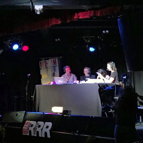 How good was this?! Triple R's Breakfasters final show of the year live from the bandroom ft. comedians, musos and more. What a way to start the weekend. 🙏