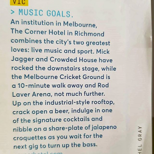 Flying high in @jetstaraustralia's in-flight mag this month! ✈️ 📸 @loverichmond3121