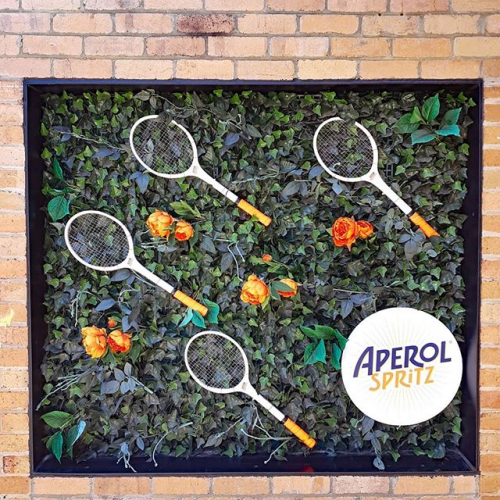 Want to go to the tennis? We've got a dbl ground pass to give away for the @australianopen TOMORROW! Just let us know if you're keen below!  In the meantime come and check out our @aperolspritzau rooftop garden pop-up as we screen all the on-court action over the next two weeks.