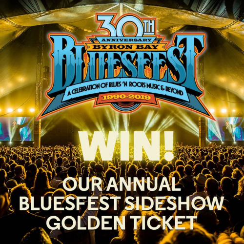 ✨ PRESENTING OUR BLUESFEST SIDESHOW GOLDEN TICKET ✨  Includes: 🎸 Dbl pass to all of our @bluesfestbyronbay sideshows 🍻 Drink cards at each of the gigs  Entries now open via facebook.com/thecornerhotel