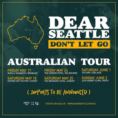 JUST ANNOUNCED: Aussie hardcore punks @dearseattle are hittin' the road to roll their brand new album around the country this May! Tix on sale now via cornerhotel.com