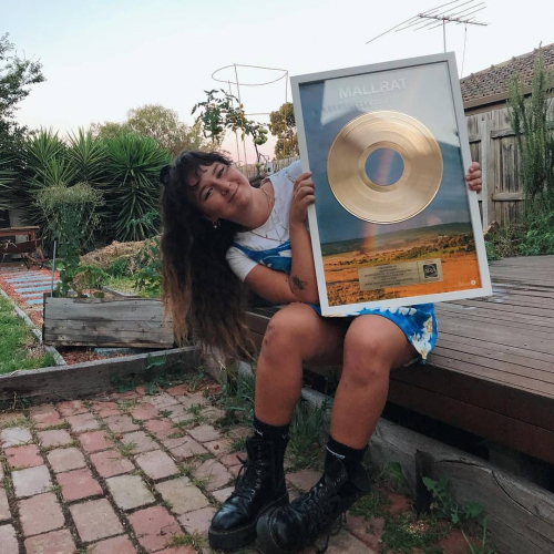 Just some of the reasons why @lilmallrat is officially killing it right now: 🌈 'Groceries' went gold last month 🌈 It also reached #7 in @triple_j's Hottest 100 🌈 She's sold out 3 of her 4 headlining shows here in April  Very ltd tix left for the U18 gig on April 6, selling fast via cornerhotel.com!