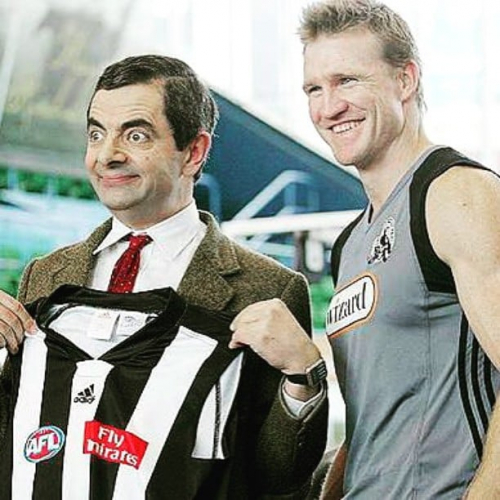 Before the 2019 AFL season kicks off we're screening the 2018 Grand Final TOMORROW night up in the rooftop bar! Relive the West Coast V Collingwood nail-biter from 7:30pm, with happy hour specials running from 5:30pm.  Wonder if this fella would've helped the Pies out.. 🤔
