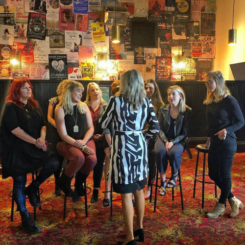 Stoked to have been able to host @musicvictoria and their Cultivate program participants today!  Supporting the development of rising women leaders of the industry, this morning featuring a guest talk by Chloe Shorten. 💪