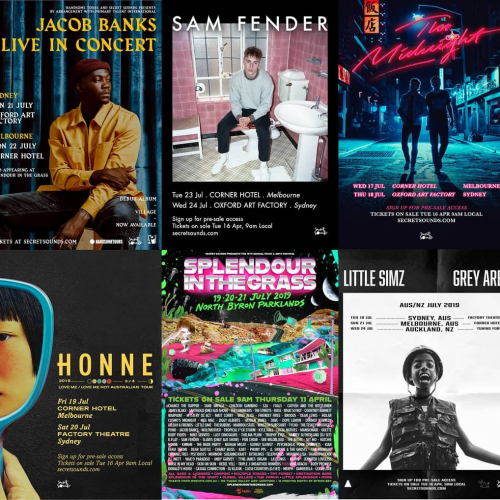 Our @splendourinthegrass sideshows have just gone on sale and tickets are flying!  Don't miss Jacob Banks, Sam Fender, The Midnight, HONNE and Little Simz. All on sale now via cornerhotel.com.