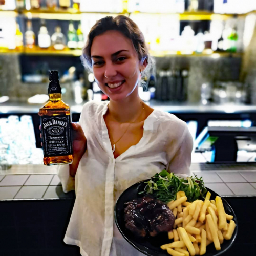 Did ya hear? May is Jack Daniel's month and you better believe that the kitchen is getting involved. Tuesday night $15 steak special now featuring a damn tasty JD sauce. 😎  Only until the end of the month!