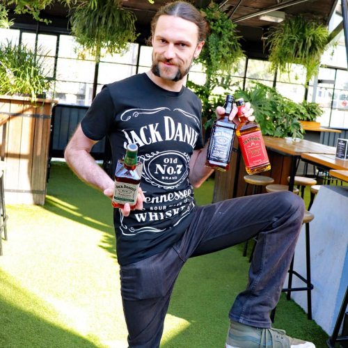 PSA! May is Jack Daniel's month and Steve means business.  There are four special cocktails on offer and some JD spiked food specials. Get in. 👊