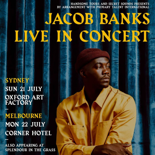 @splendourinthegrass is right around the corner and for us that means one thing.. SIDE 👏 SHOWS! 👏  Don't miss the smooth stylings of British soul sensation @mrjacobbanks, tix moving via cornerhotel.com.