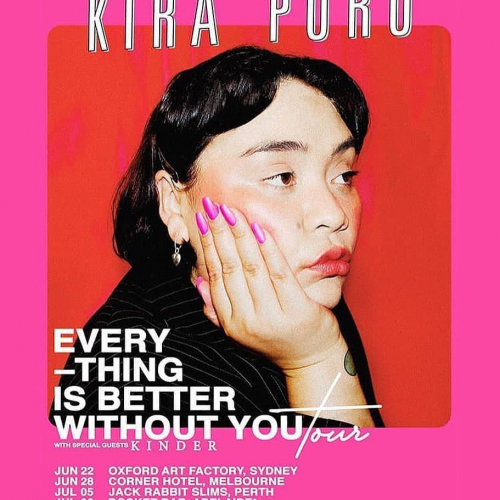 Electro-pop queen @kirapuru will be treating us to a night of absolute tunes next week and we cannot wait.  Get your dancing shoes ready, tix via cornerhotel.com.
