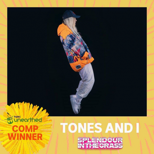 Huge congratulations to @tonesandi for winning @triple_j_unearthed Splendour comp! MAS  SIVE   Can't make it to SITG? Catch her right here this Sep, tix to the third show almost gone via cornerhotel.com