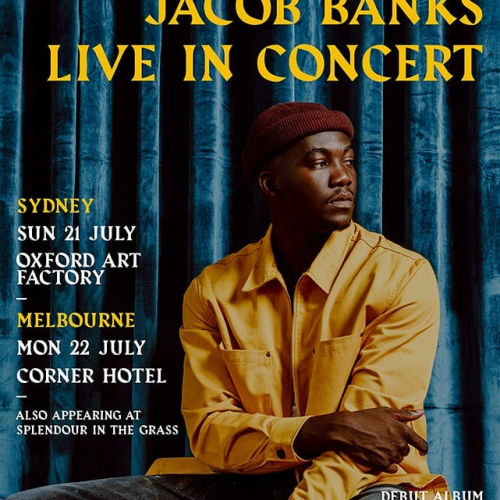 It's @splendourinthegrass sideshow week!   Don't miss out and snag one of the last few tickets to a show stat. Most are sold out with only a handful left for @mrjacobbanks next Mon → cornerhotel.com.