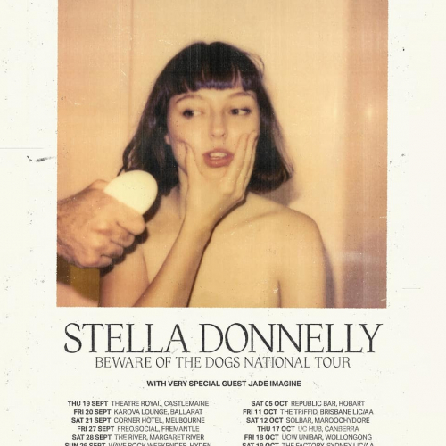 JUST ANNOUNCED: @stelladonnelly is bringing her new album our way this September! With @jadeimagineband on opening duties, it's sure to be something special. Tix on sale 9am Fri.