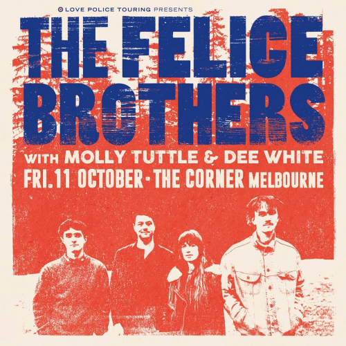 JUST ANNOUNCED: Americana outfit @felicebrothers are heading our way for an exclusive @outontheweekend sideshow this Oct!  Tickets on sale Tue 20 Aug → cornerhotel.com.