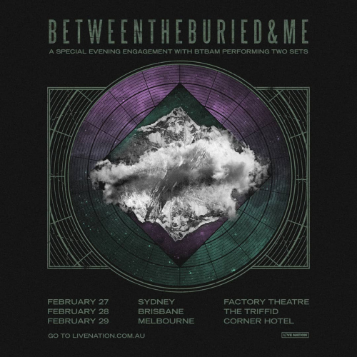 Brace yourselves for @btbamofficial! The American prog-metal masters are corner bound next Feb.  Want in? Tickets on sale this Fri via cornerhotel.com.
