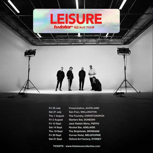 New Zealand Soulwave collective @theleisurecollective hit our stage THIS Friday with tracks from the recently released new LP!  Many shapes will be made, tickets selling fast at cornerhotel.com.