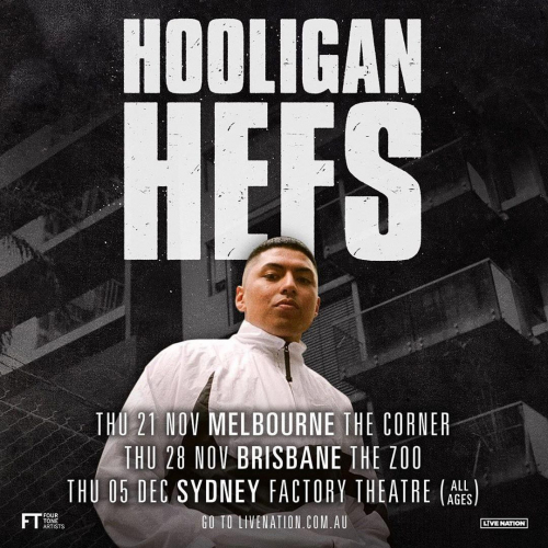 Like your UK grime, drill and hardstyle? You'll want to check out Western Sydney's @hooliganhefs.  Heading our way for the first time this Nov, tickets on sale tomorrow → cornerhotel.com.  #cornerhotel #melbourne #music #livemusic #ukgrime #hardstyle