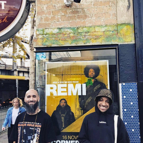 Look who stopped by! @remikolawole are returning this Nov and bringing with them new music, old faves and what's going to be one hell of a party. Tickets are moving → cornerhotel.com. 📷 @sensiblejsmith  #cornerhotel #music #livemusic #rnb #hiphop